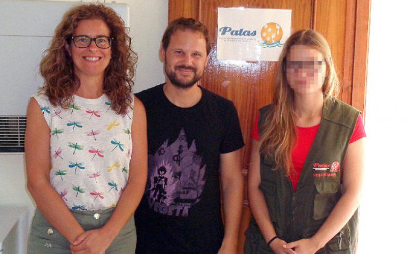 """07/07/2017 Integración laboral con """"Patas"""""""
